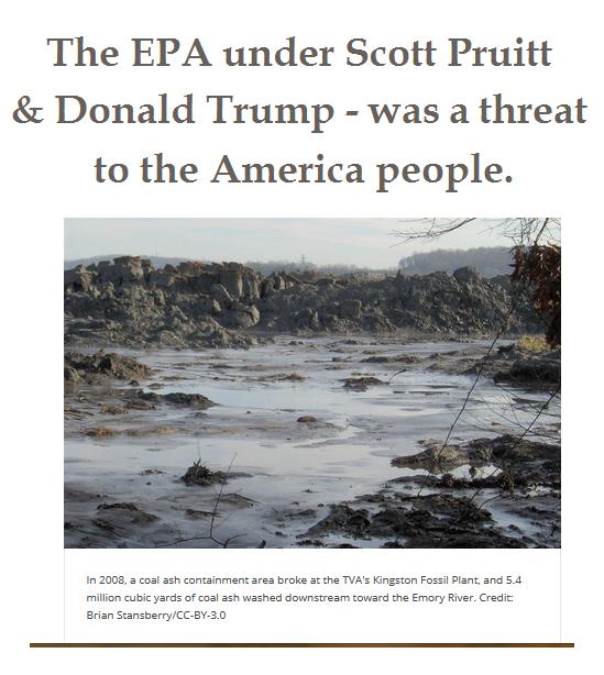 Don't Gut Coal Ash Rules, Communities Beg EPA at Hearing
