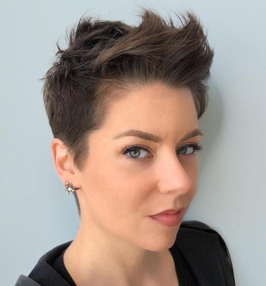 Statement Androgynous Haarschnitte Für Frauen 2019 Kurze Frisuren