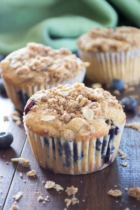 Need breakfast in a hurry? These Healthy Blueberry Muffins are a tasty solution. They are delicious, light, and perfectly sweetened.