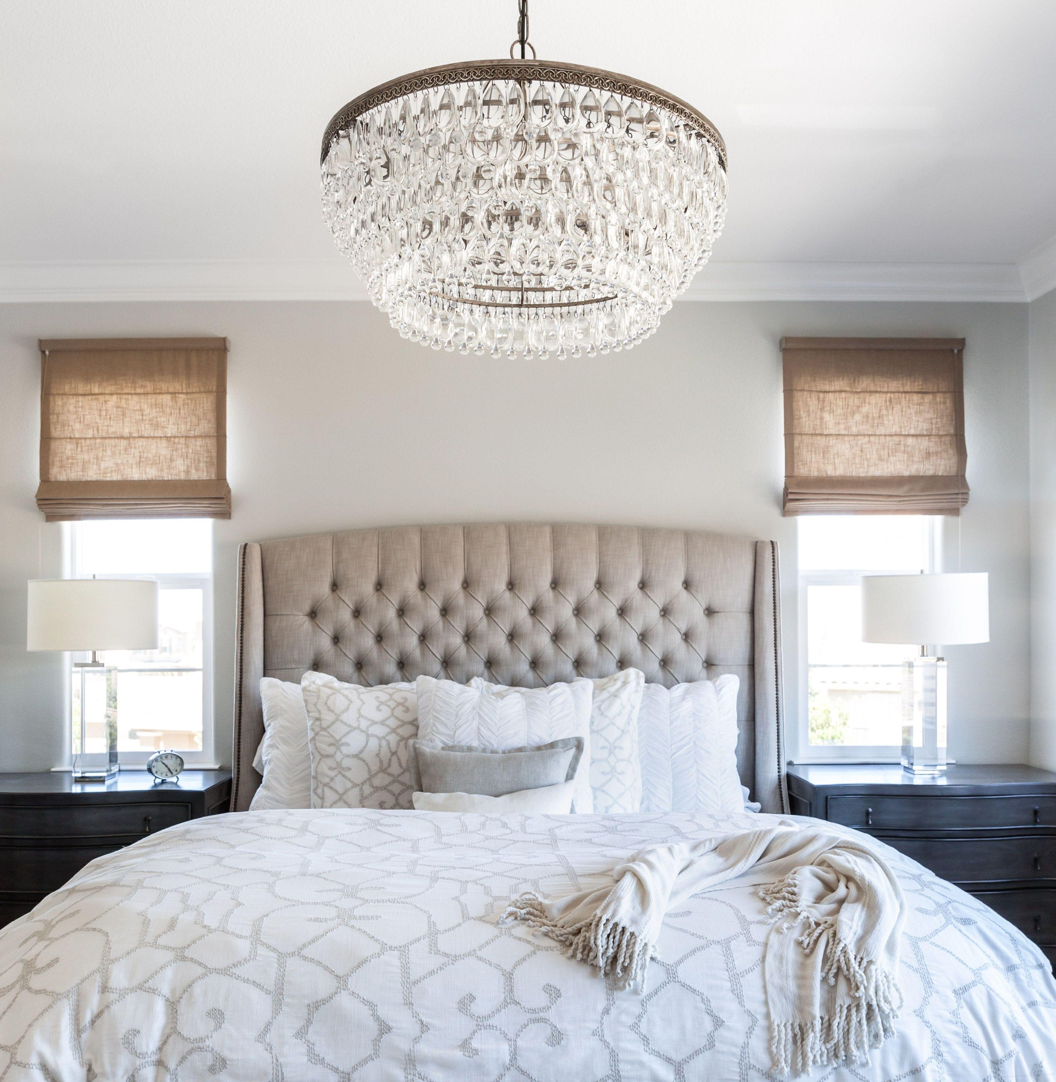 Small Bedroom Chandeliers Master Bedroom Linen Bed Roman