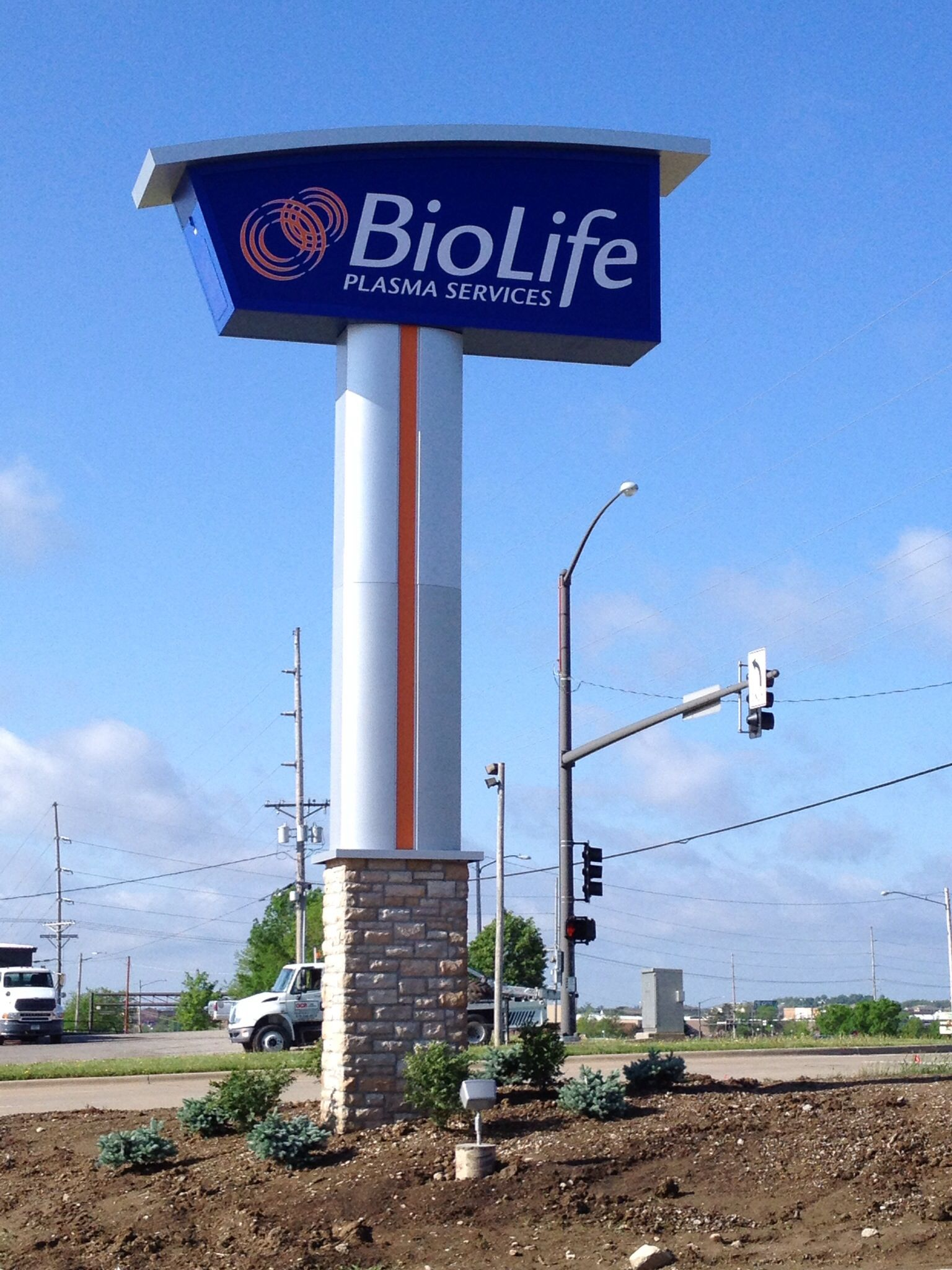 Biolife Cedar Rapids Iowa Signs Sign Design Signs Cedar Rapids