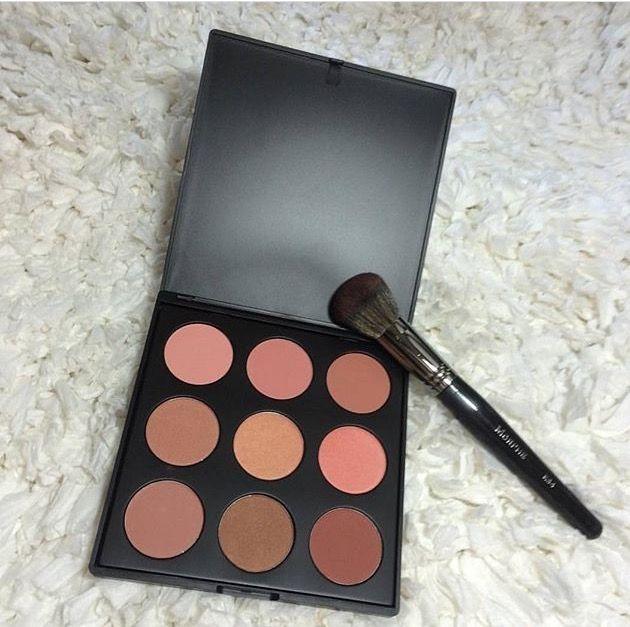 Morphe 9n Blush Palette And E34 Blush Brush Makeup Blush