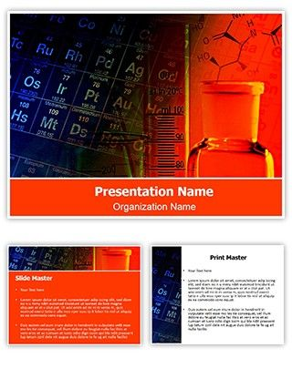 Professional Chemistry Editable Powerpoint Template Free