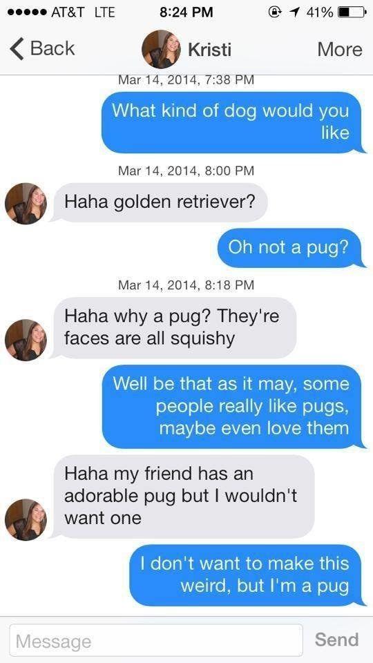 Online dating is not weird stuff
