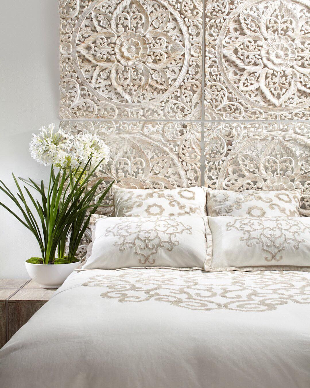 Bedroom Style Tip: Use Multiples Of Our Whitewashed