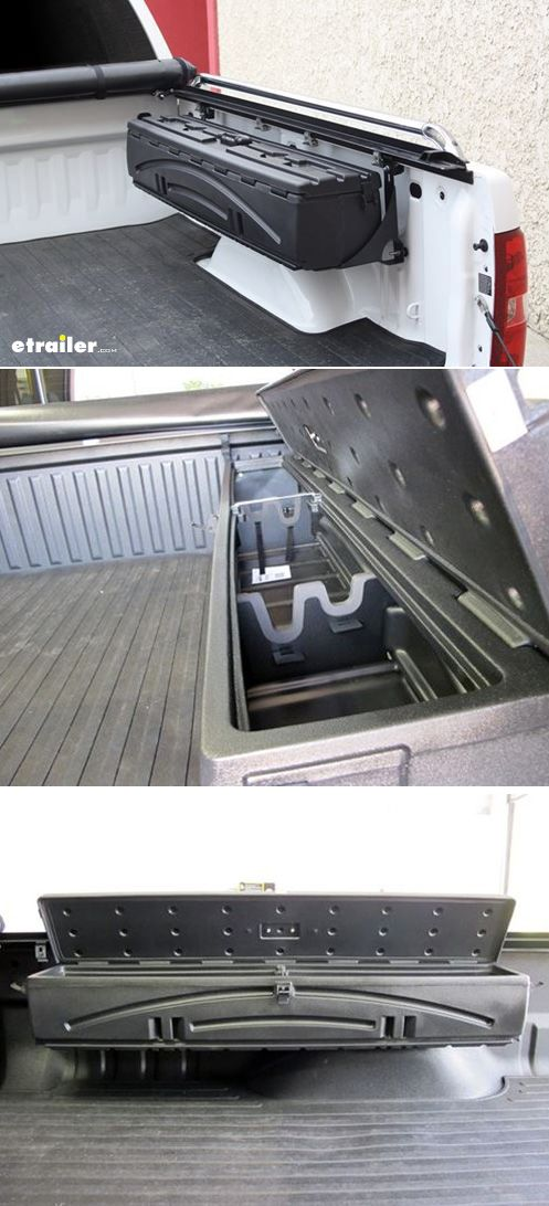 Truck Bed Side Storage Boxes
