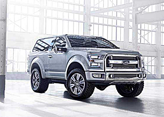 2016 Ford Bronco Svt Raptor Price