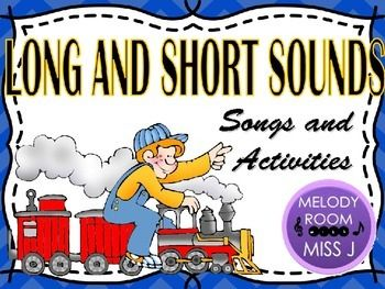 ELEMENTS OF MUSIC: Long and Short Sounds | Melody Room Store | Music