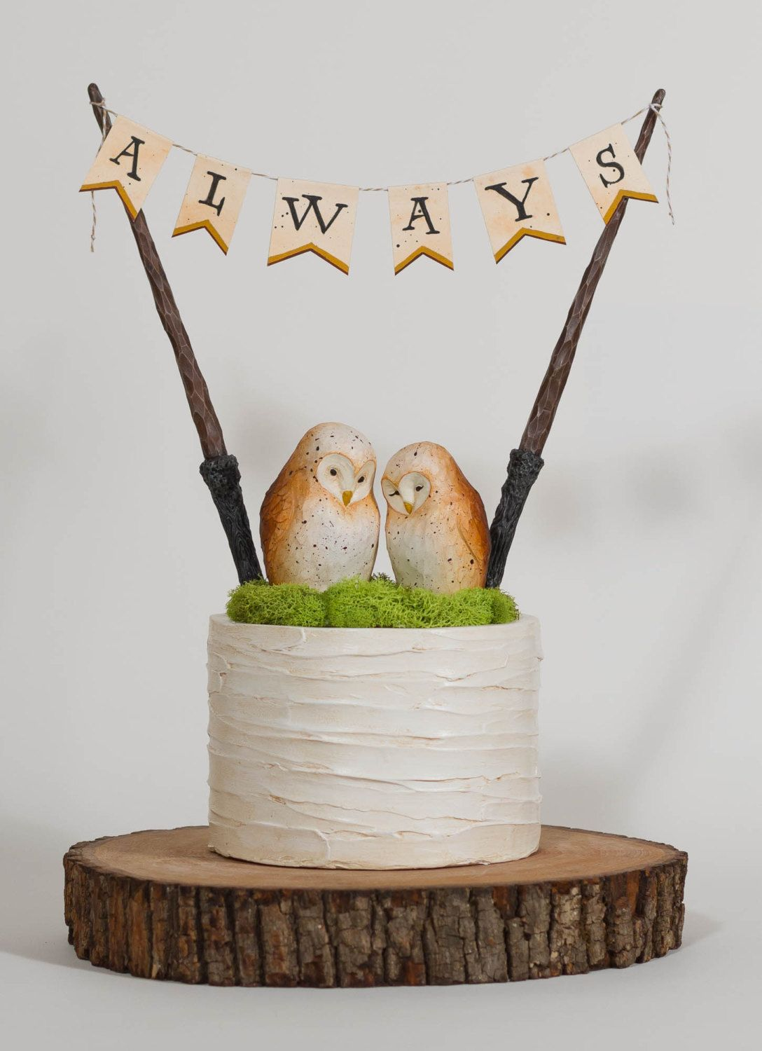 8 Adorably Geeky Harry Potter Cake Toppers | Harry potter cake ...
