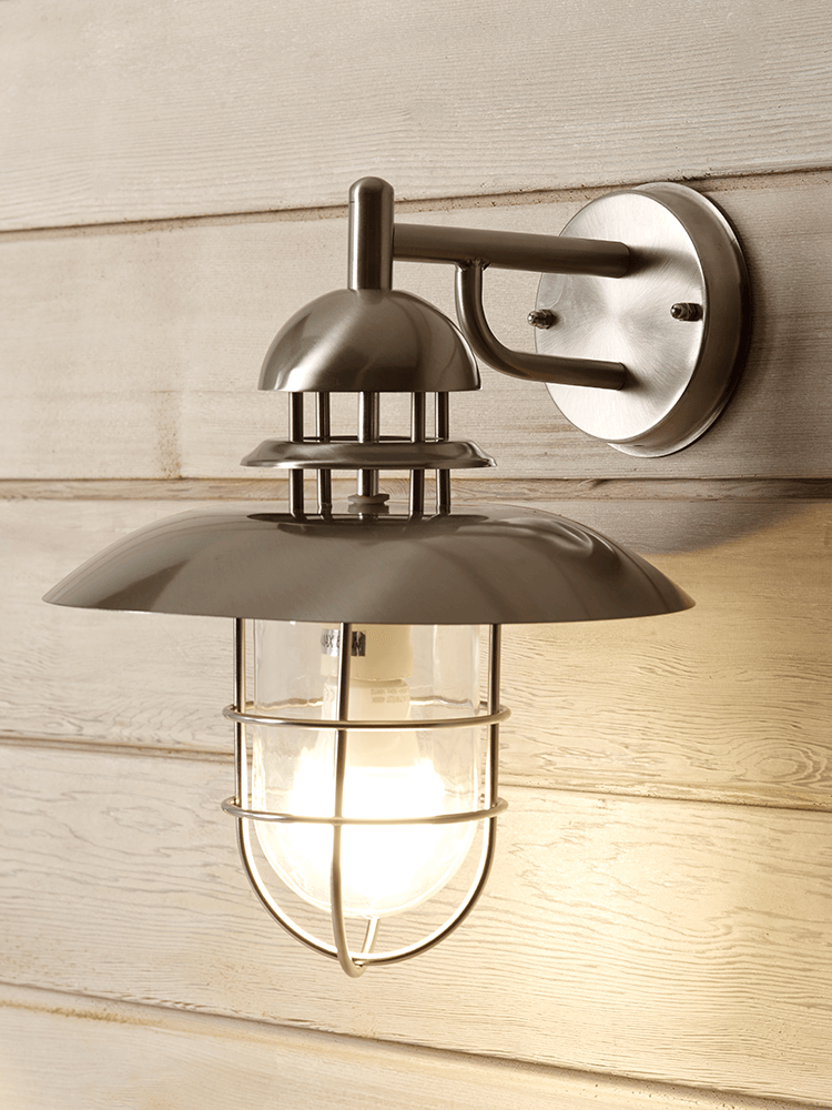 Captivating NEW Pewter Tiered Outdoor Light