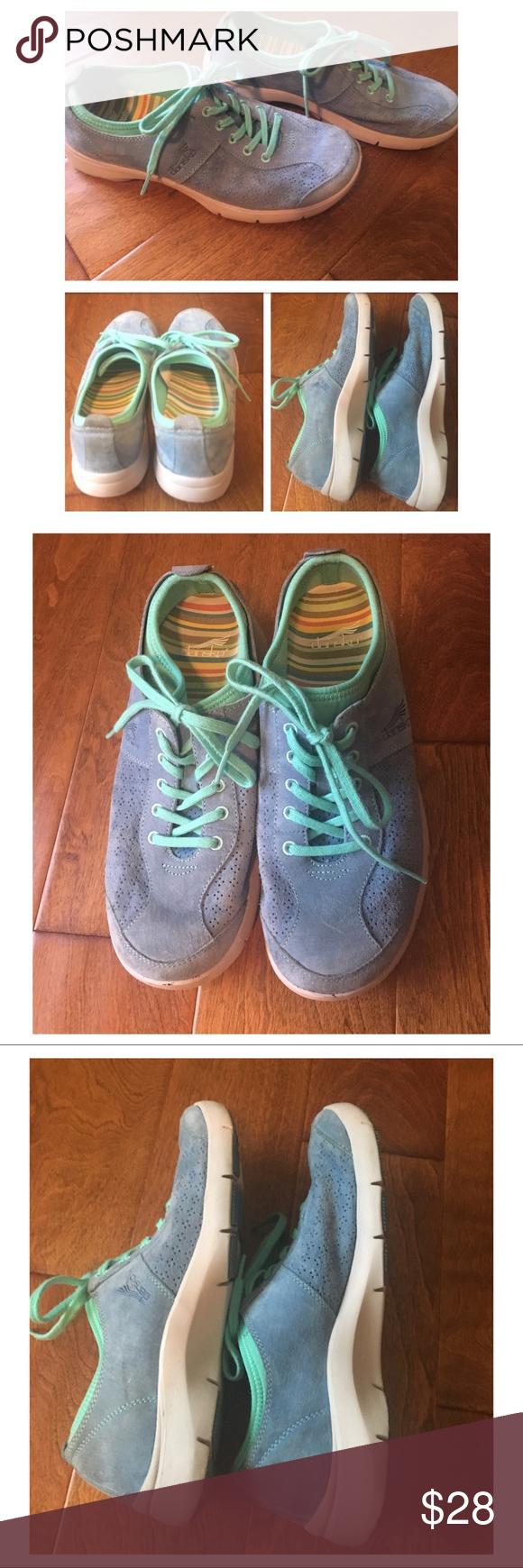 Slip Resistant Sneakers | Blue suede
