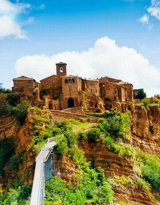 Civita Di Bagnoregio Province Of Viterbo Region Of Lazio Italy