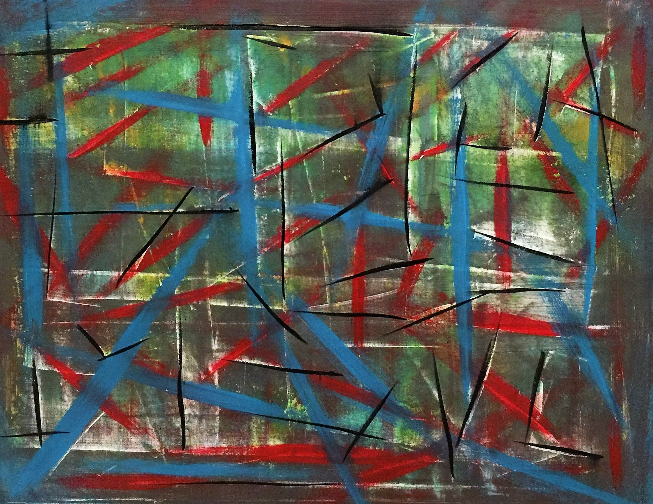 Original Painting By: Jena Medders Material: Stretched Canvas Media: Acrylic The Original Painting is Signed.