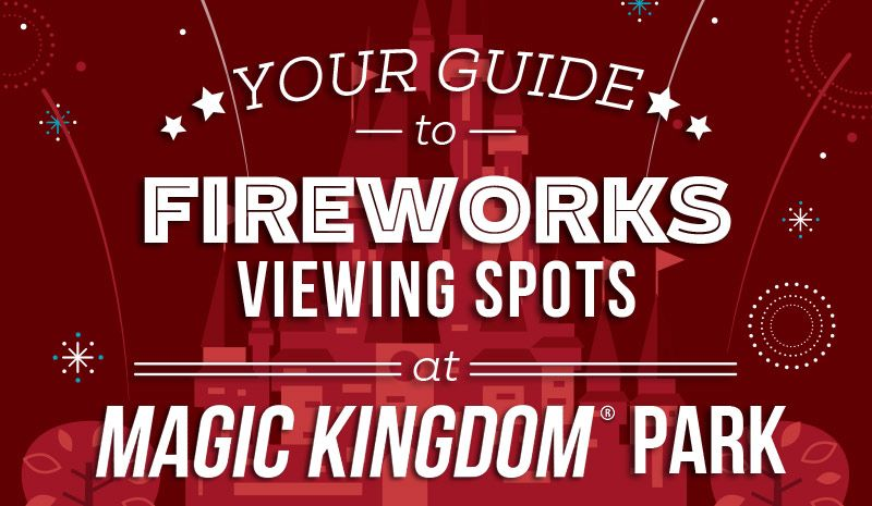 Your Guide to July 4th Fireworks Viewing Spots at Walt Disney World® Resort