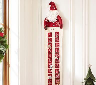Santa Advent Calendar Pbkids Advent Calendars For Kids