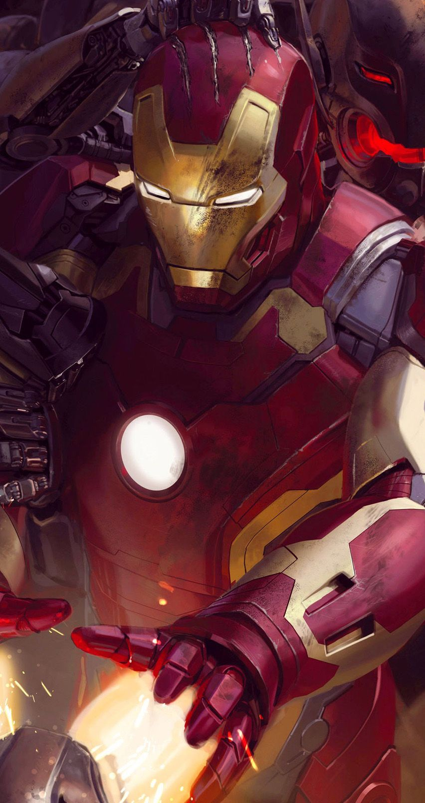 Avengers Age Of Ultron Ironman Wallpaper For Iphone 55s Iphone 6