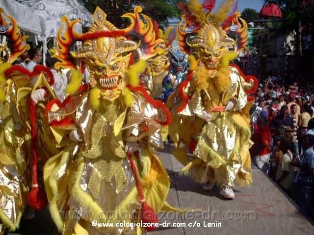 The Domincan Carnival Is A Month Long Celebration In February That - Dominican republic independence day