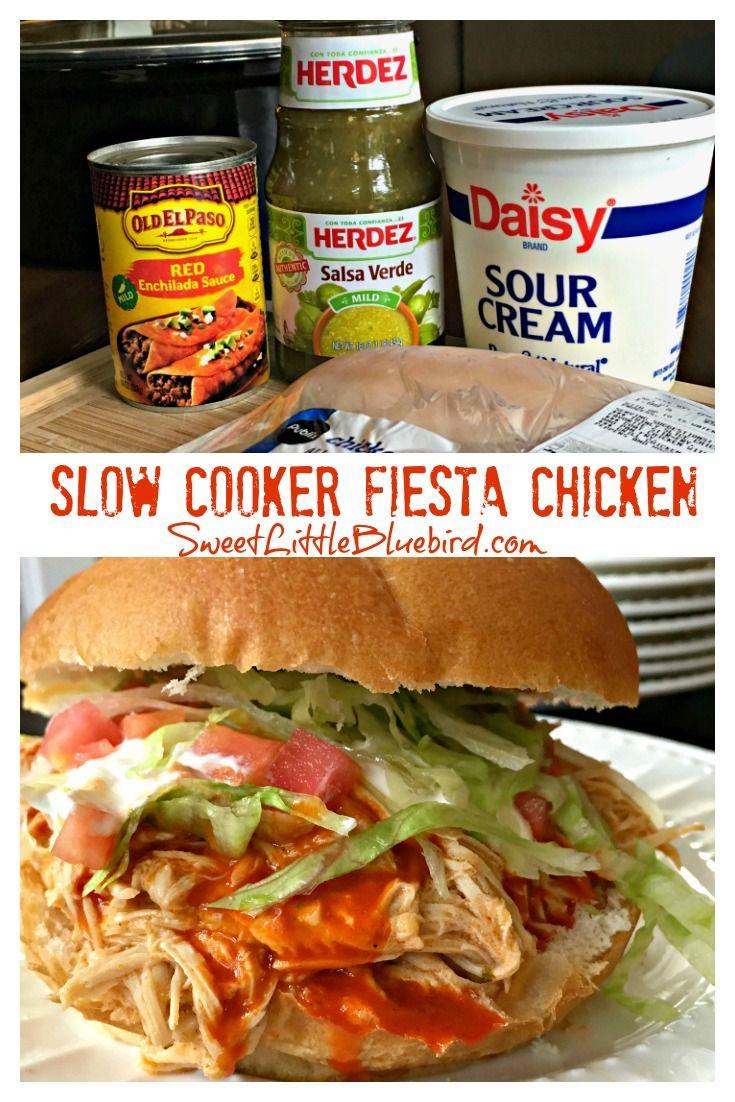 Easy Slow Cooker Fiesta Chicken images
