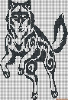 25+ best Wolf pixel art ideas on Pinterest Bleistiftzeichnungen der Natur, ...