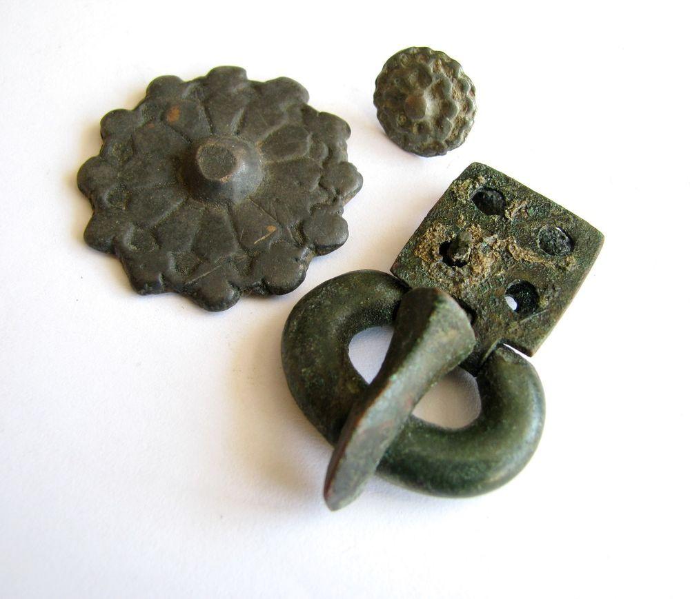 Antiquities Viking Аncient Artifact Bronze Primitive Decoration Belt Decoration Vikings Kievan Rus