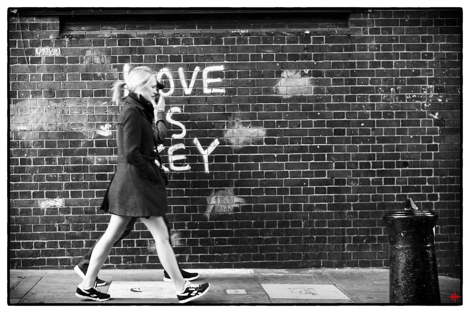 Street Photography - Brick Lane - mono log