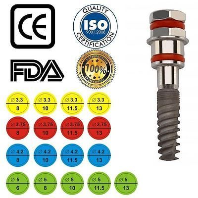 15 Spiral Dental Implant internal-HEX sterile ready for direct use https://t.co/oGpy8QB1EX https://t.co/MSNRUTWsSf