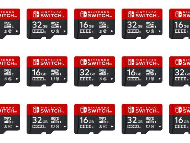 Nintendo Switch Attention Aux Cartes Microsd Officielles Hors
