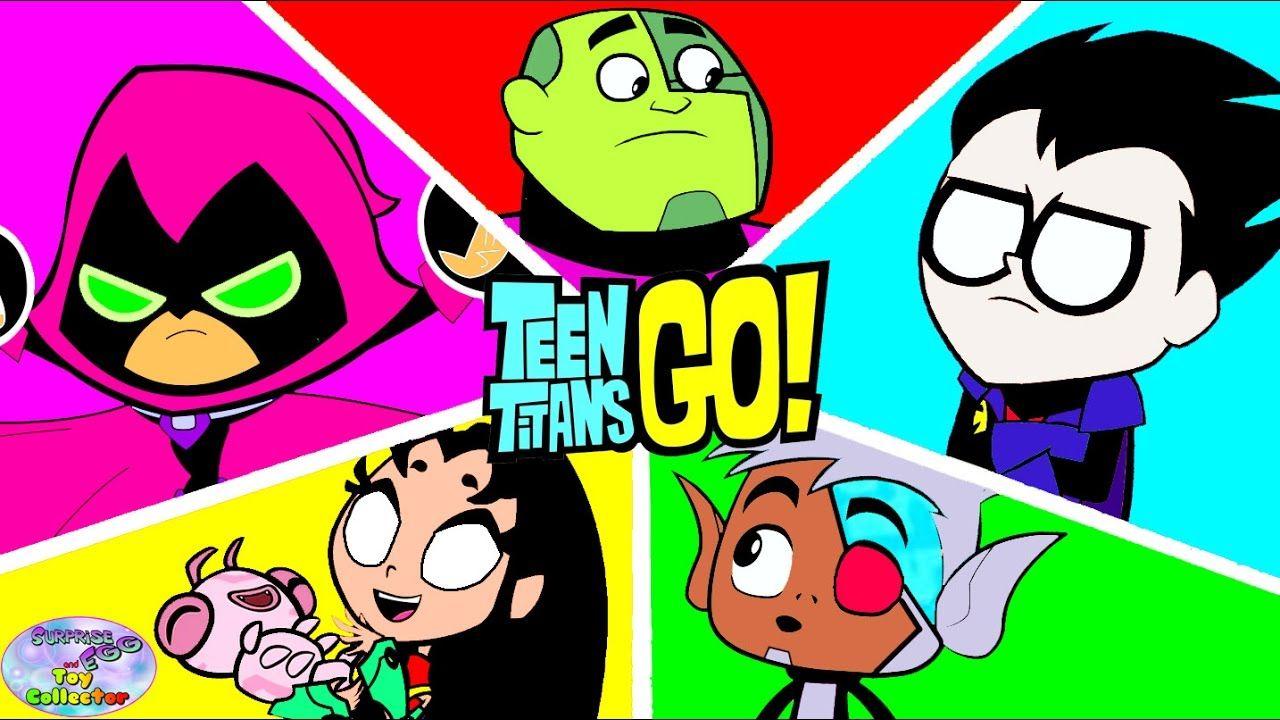 Teen Titans Go Color Swap Transforms Robin Starfire -3701