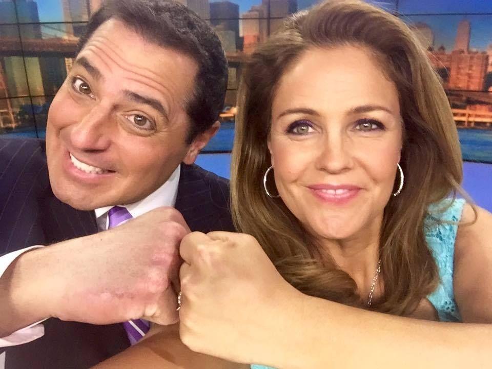 WABC Eyewitness News NY - Anchors Ken Rosato and Michelle