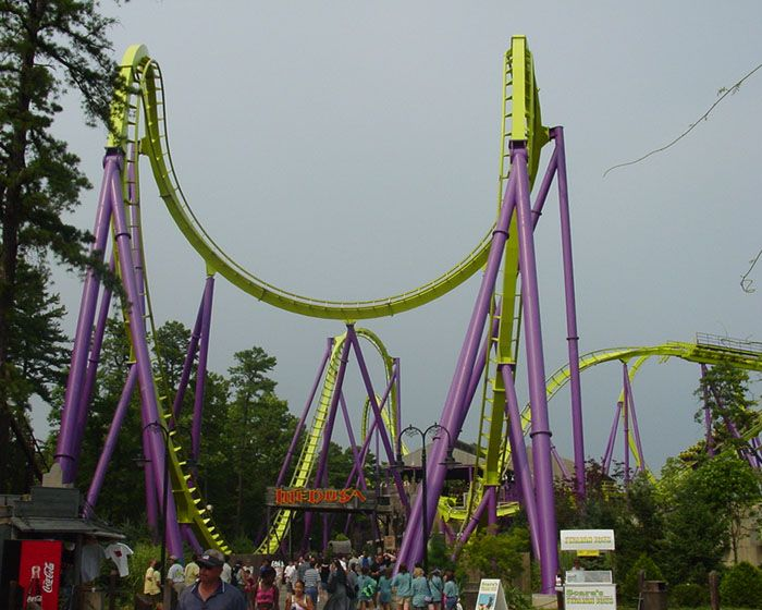 Medusa Photo From Six Flags Great Adventure Nj Now Called Bizarro Six Flags Great Adventure Greatest Adventure Six Flags