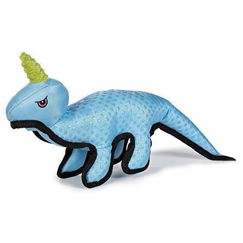 Grriggles Dimple Dino Dog Toy Blue Dog Toys Toys Dogs