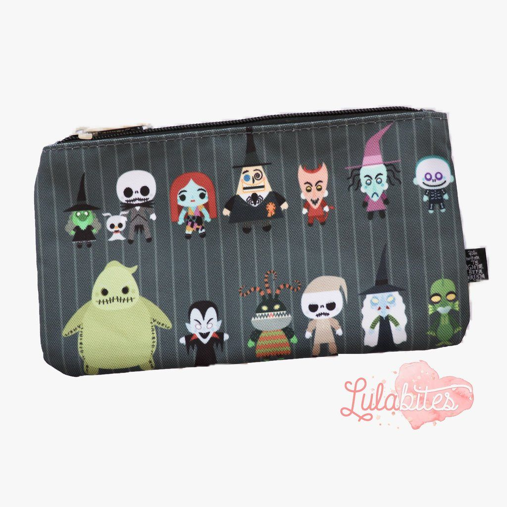 b0be71666c9 The Nightmare Before Christmas case by Loungefly. Comes in printed plastic  can be used as a cosmetic bag or pencil.