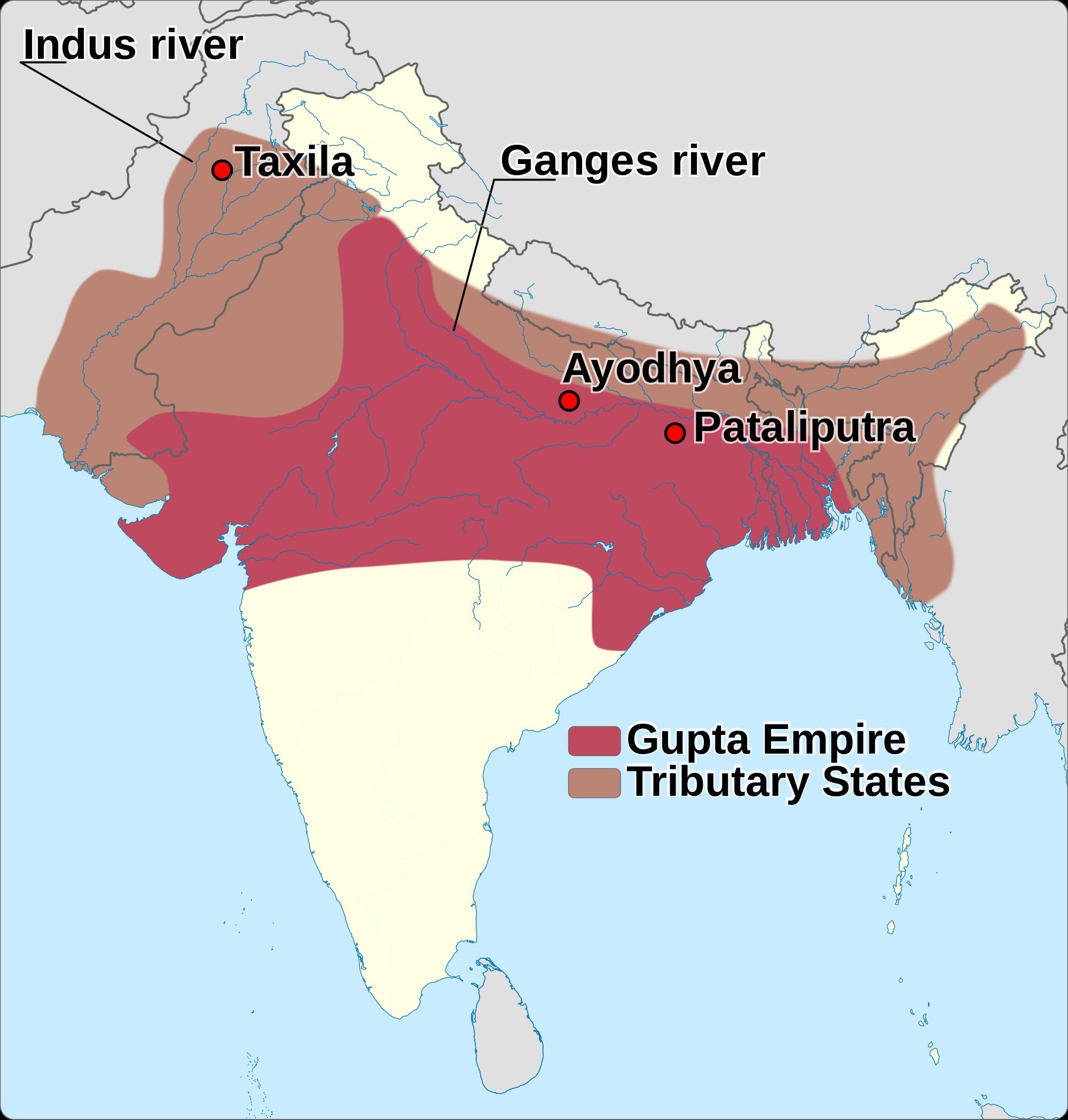 Gupta empire historical maps pinterest empire empire gumiabroncs Image collections
