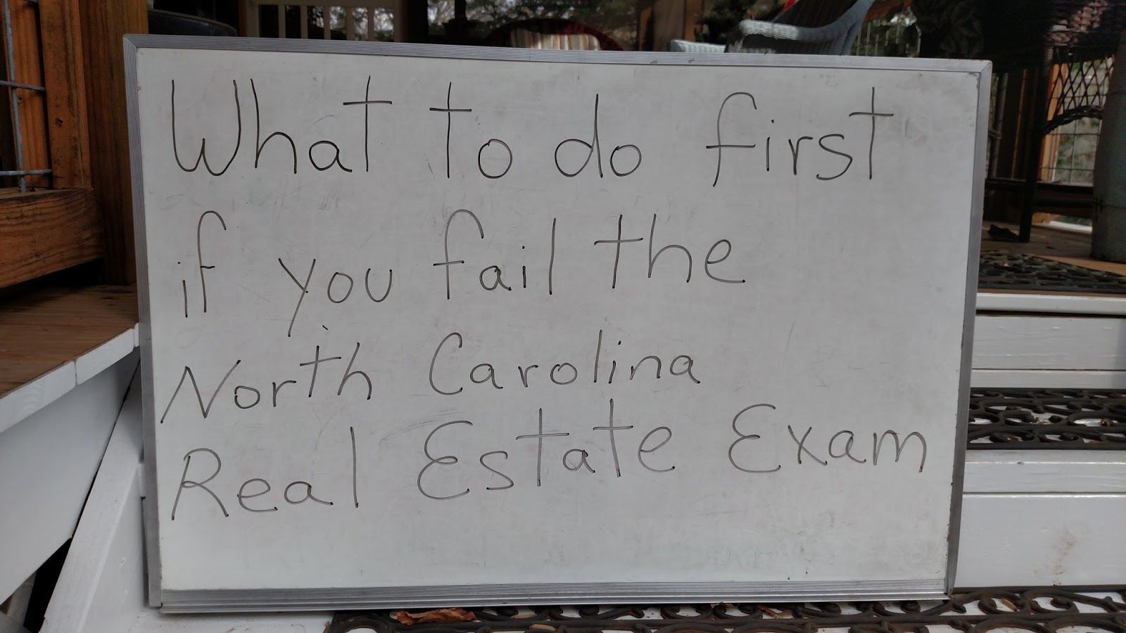 Ron Climer Mountain Messages Real estate exam, North