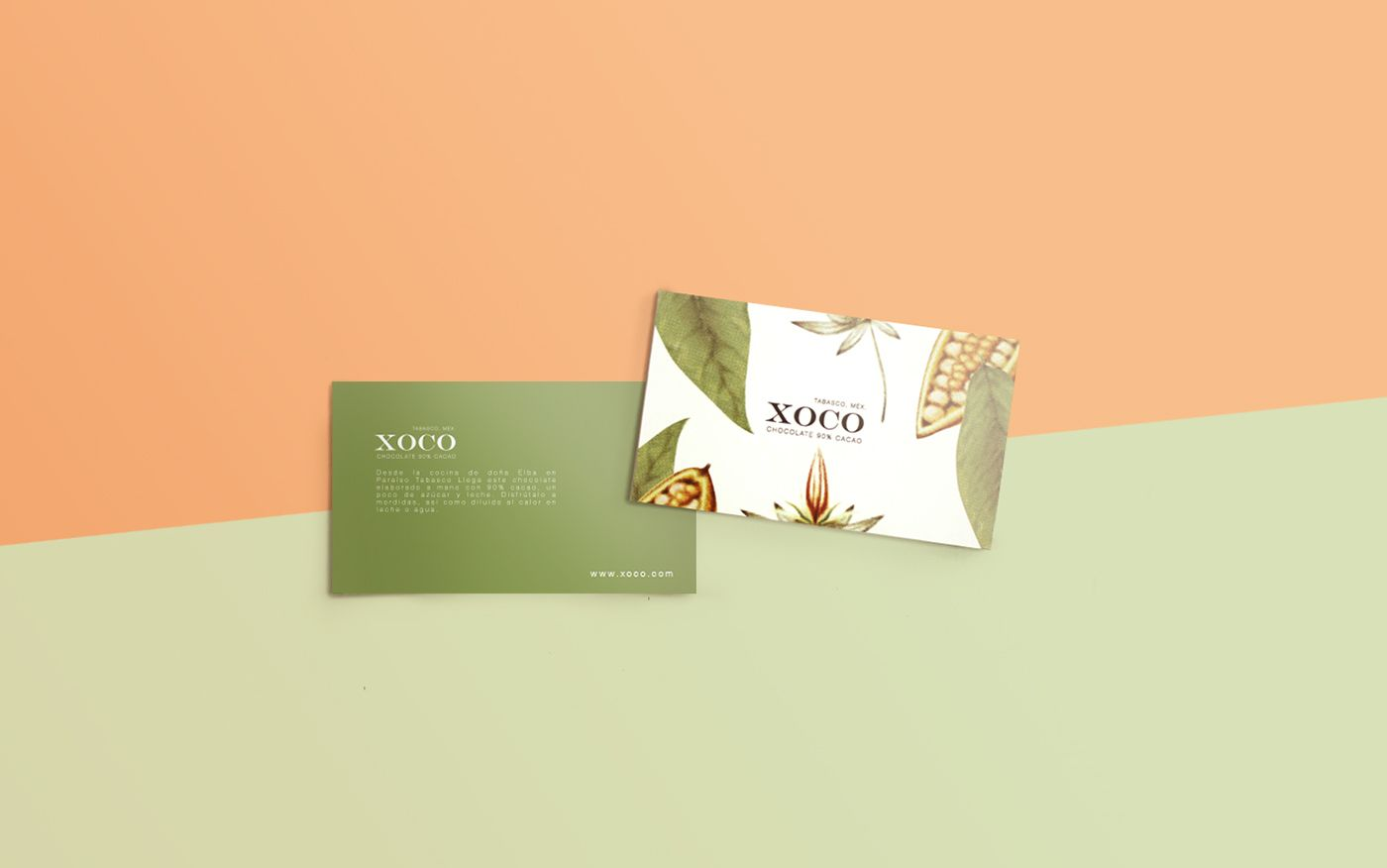 XOCO - mexican craft chocolate on Behance - botanical illustrations ...