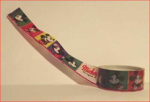 """ Mickey Mouse ""  Motiv Klebe Band Masking Tape 2,5 m MT21"