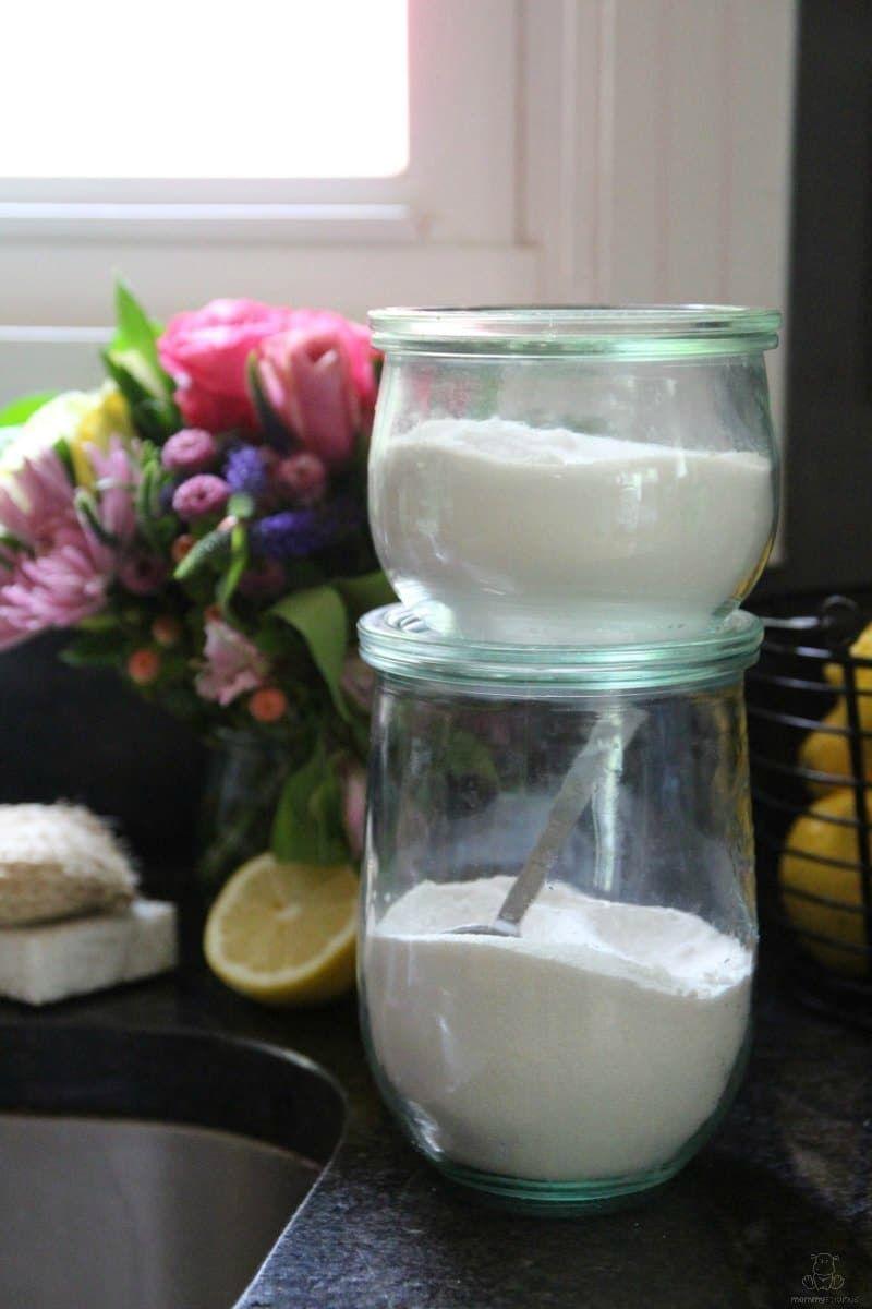 Homemade Natural Dishwasher Rinse Aid | Mommypotamus ~ Natural ...