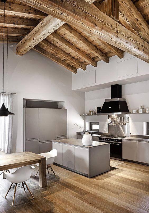 Pin di mary johnson su home arredamento sala e cucina for Arredo interni moderno