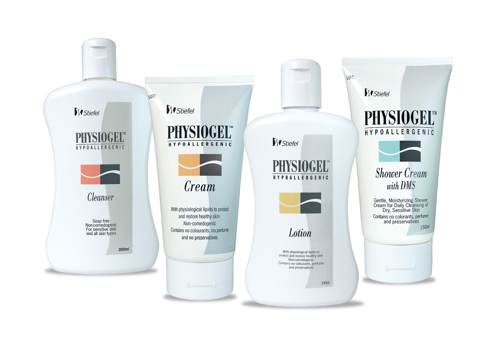 physiogel hypoallergenic face cleanser for more