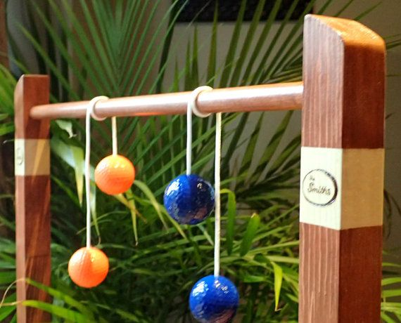 Outdoor Wedding Ladder Ball Games Personalized Family Reunion