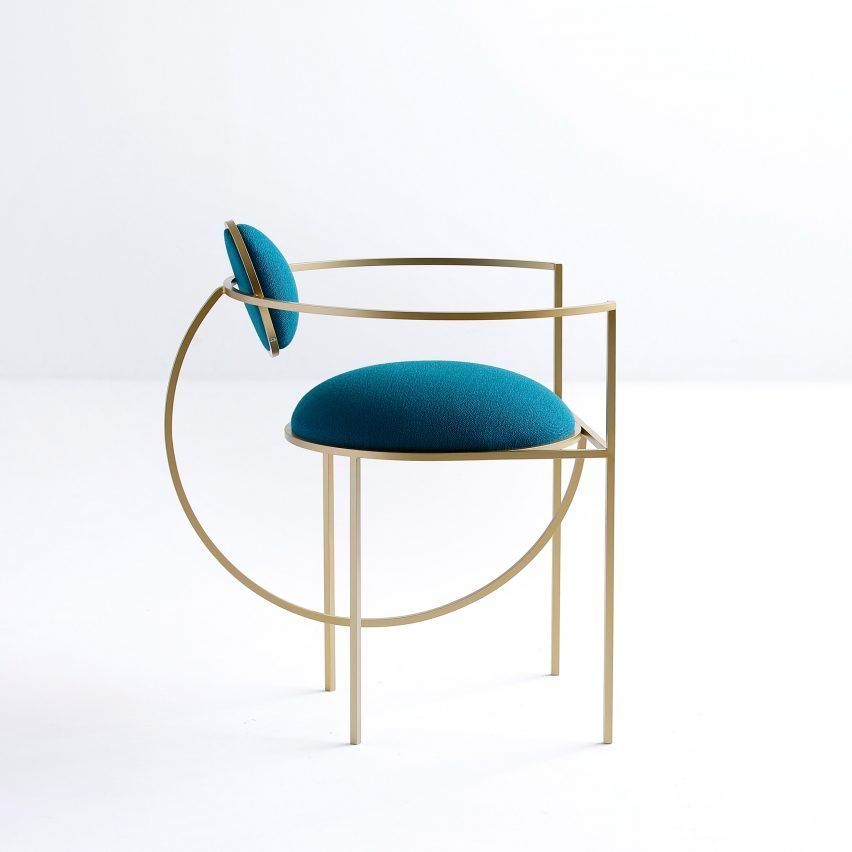 Beautiful Chair Probably Not Comfortable Though Designer
