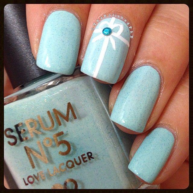 tiffany blue nail polish