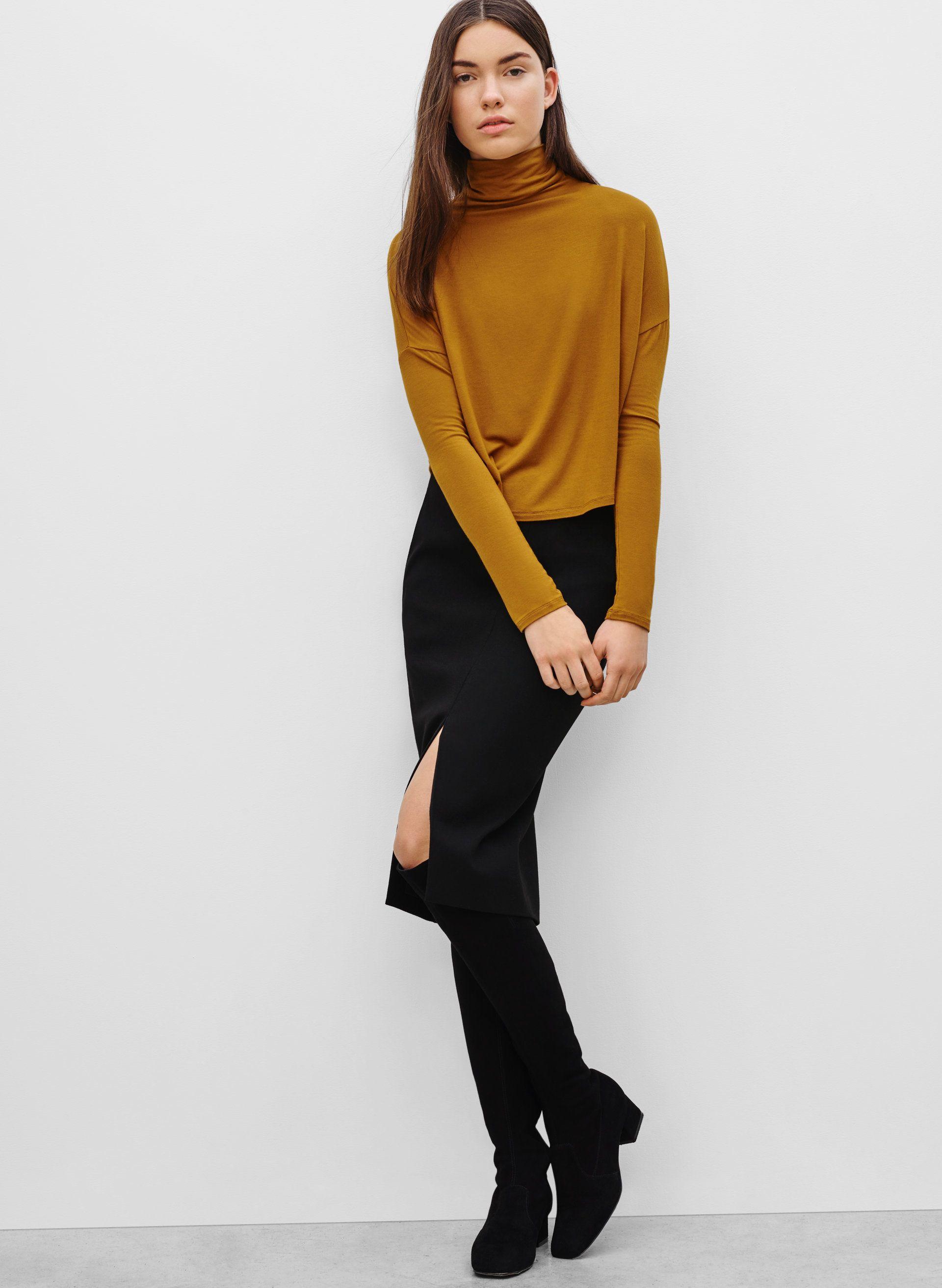 8f0facf273 Babaton JAX SKIRT | Aritzia | Simple fashion, hair & makeup ...