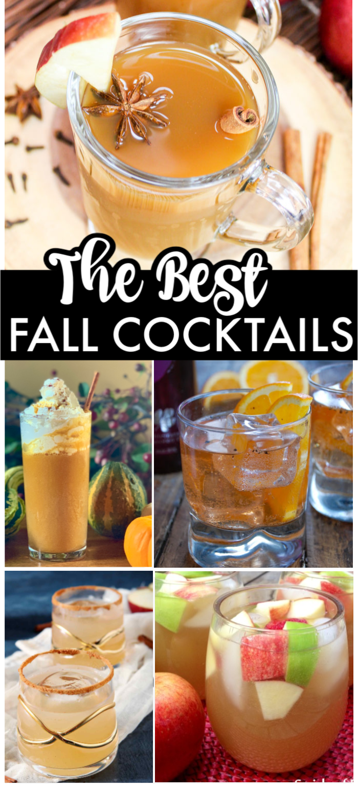 Sweaters And Boots Are Out And It S Time To Switch Over Your Summer Drinks For Some Fall Cocktails This Co Fall Cocktails Fall Cocktails Recipes Summer Drinks