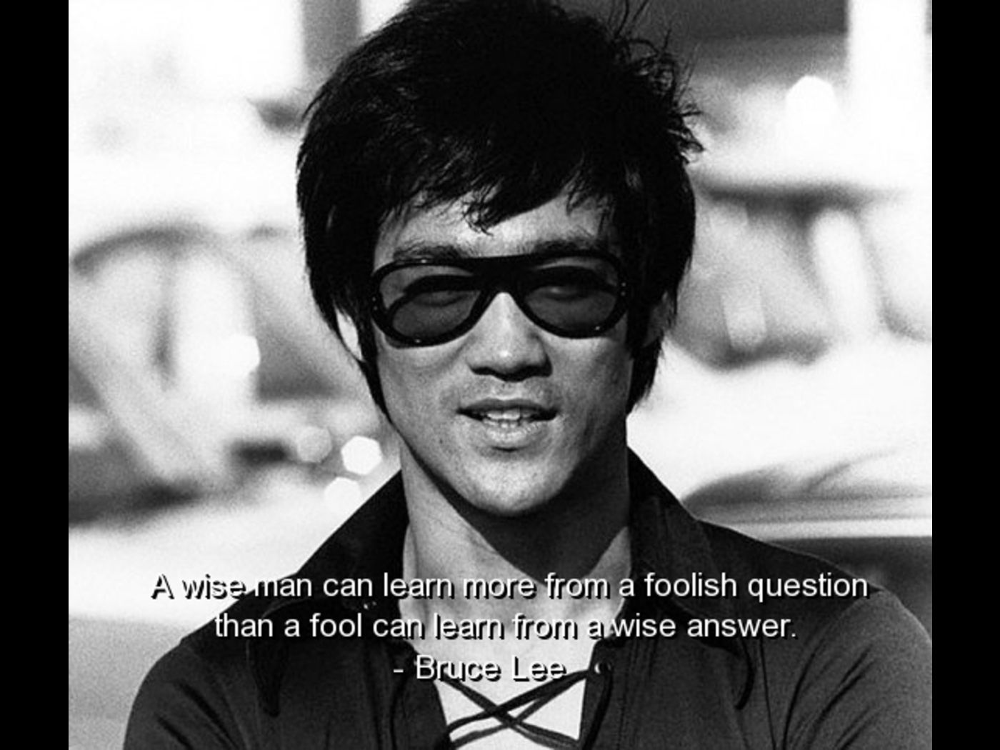 A Wish Man Can Learn More From A Foolish Question Tham A Fool Can