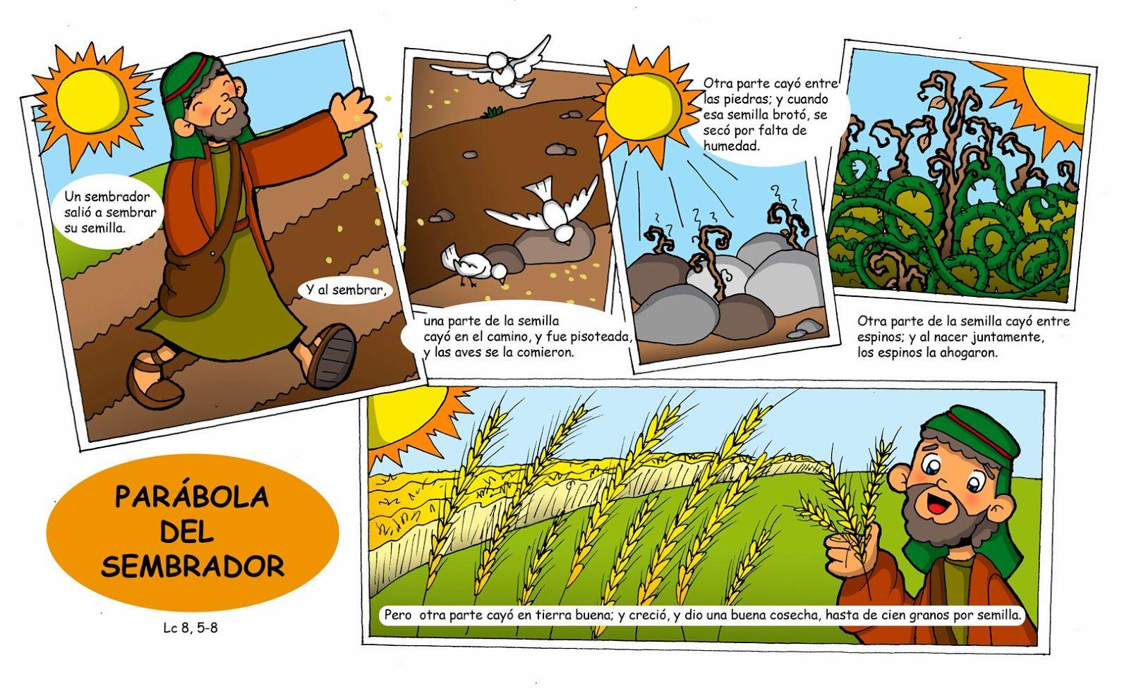 Resultado de imagen de bible video parabola del sembrador