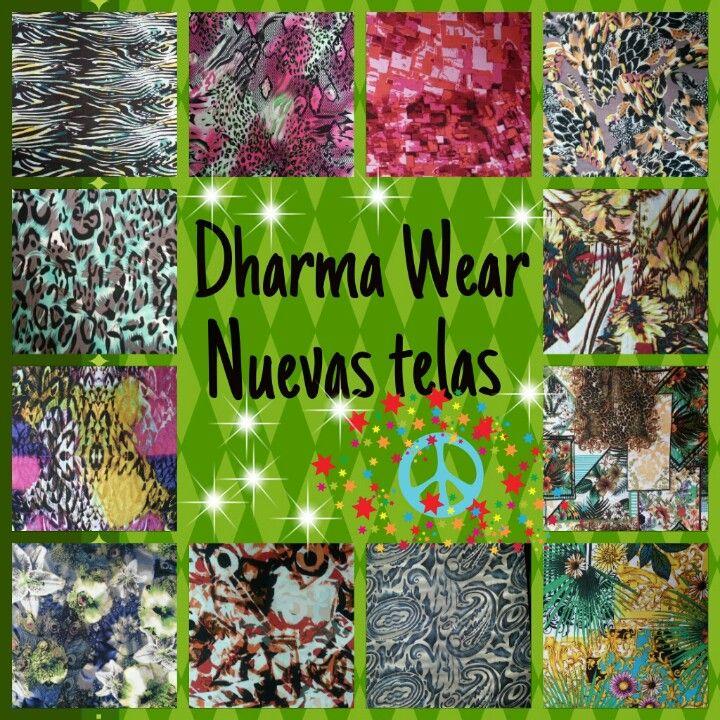 telas nuevas para los leggies Dhama Wear...