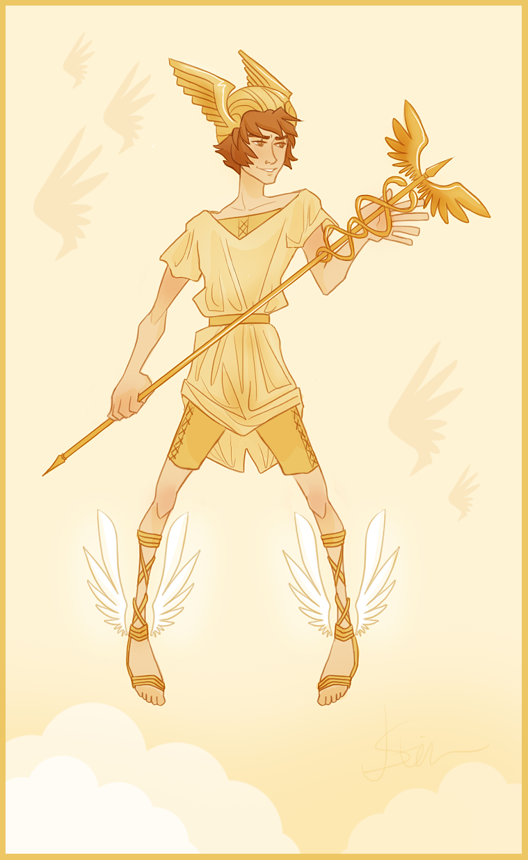 Hermes | Myths and Gods: The Olympian Immortals | Pinterest