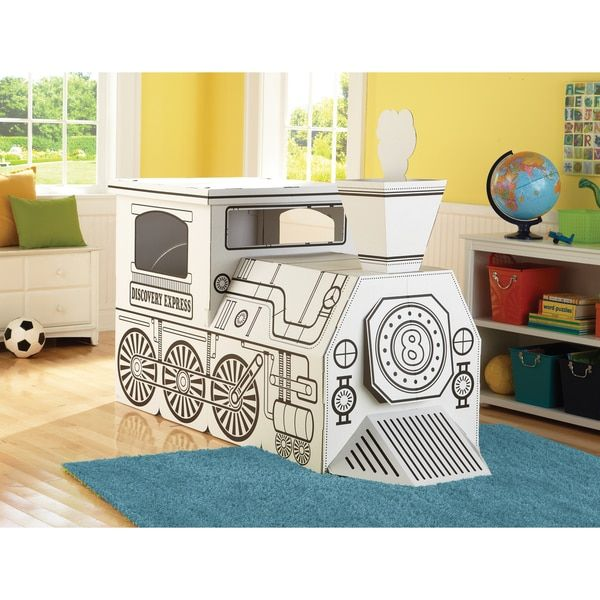 Our Best Outdoor Play Deals Cardboard Train Discovery Kids Coloring For Kids