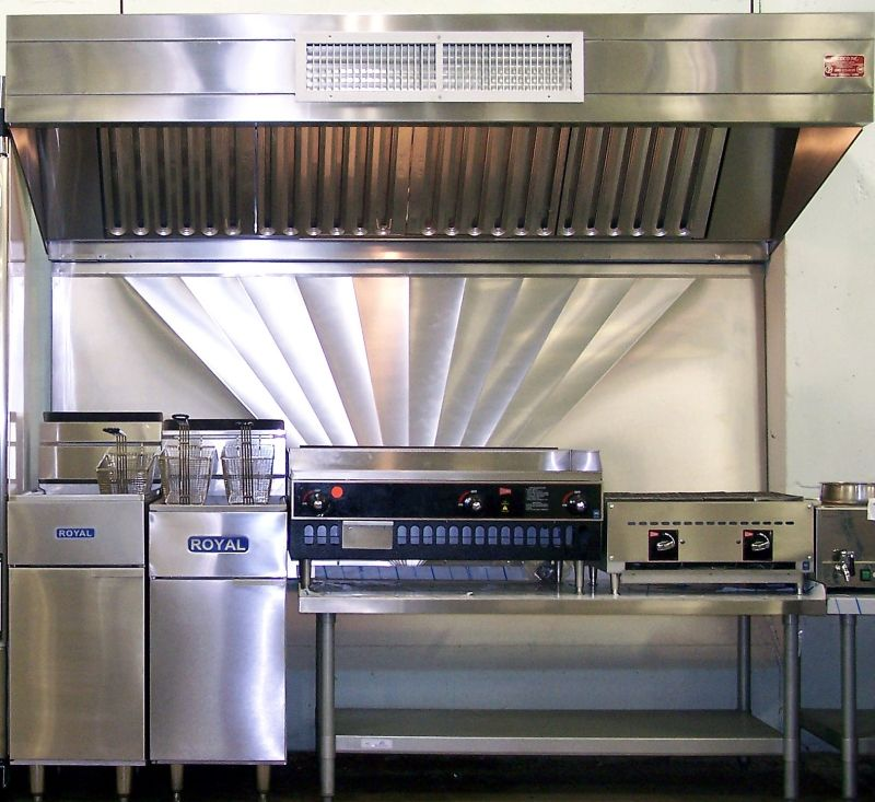 Commercial Kitchen Exhaust System Design Pleasing The Grill Area Is The Heart Of The Restaurant Kitchenthe Grill Inspiration Design